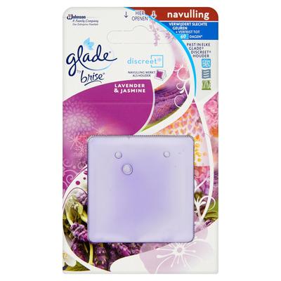 Glade Discreet lavendel/ jasmijn navul