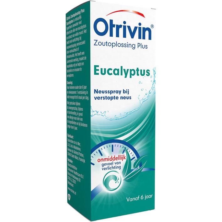Otrivin Zoutoplossing Plus Eucalyptus Neusspray