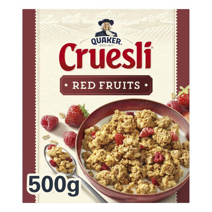 Quaker Cruesli rode vruchten