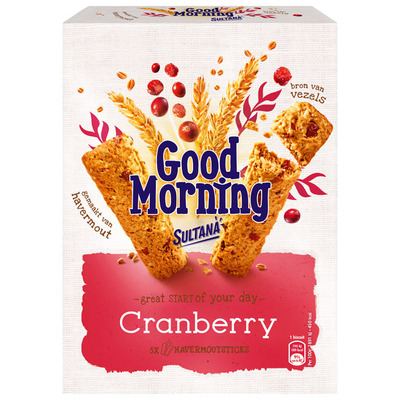 Sultana Goodmorning cranberry