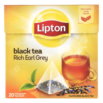Lipton Zwarte thee rich earl grey