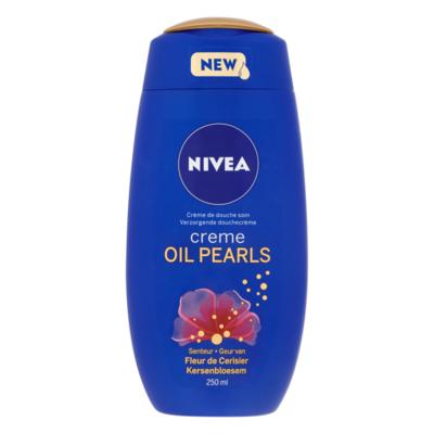 Nivea Creme Oil Pearls Verzorgende Douchecrème Kersenbloesem