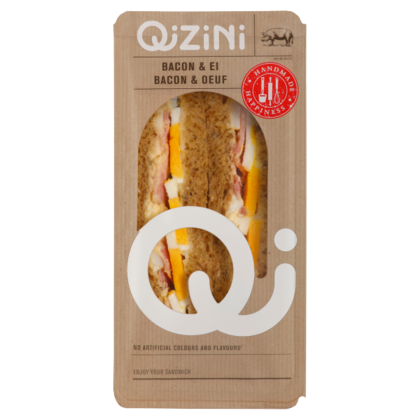 Qizini Sandwich bacon ei