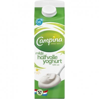 Campina Halfvolle milde yoghurt