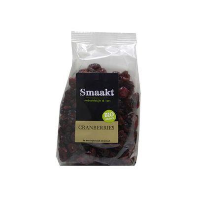 Smaakt Cranberries Bio