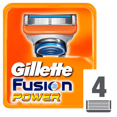 Gillette Scheermesjes fusion power