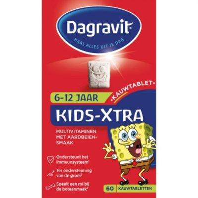 Dagravit Multivitaminen kind 6-12 jaar aardbei