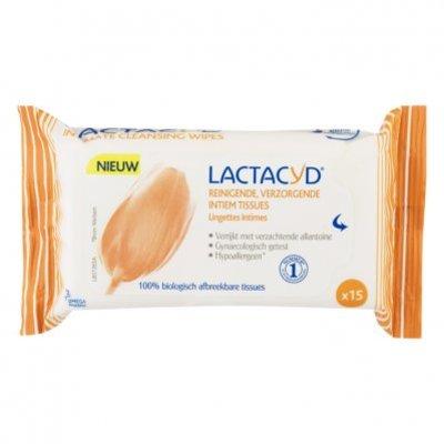 Lactacyd Verzorgende en reinigende intiem tissues