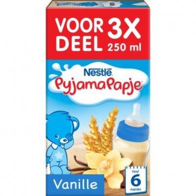 Nestlé Pyjamapapje vanille 6+ mnd baby pap