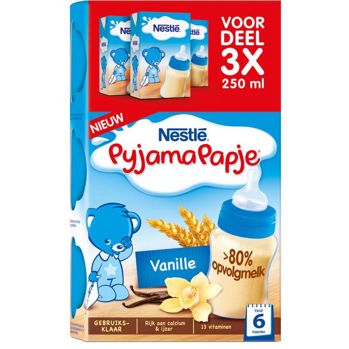 Nestlé Pyjamapapje vanille voordeel
