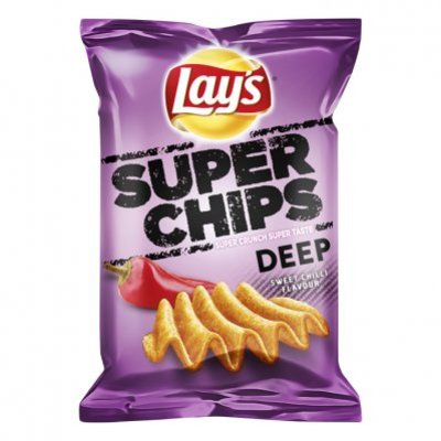 Lay's Superchips deep sweet chilli