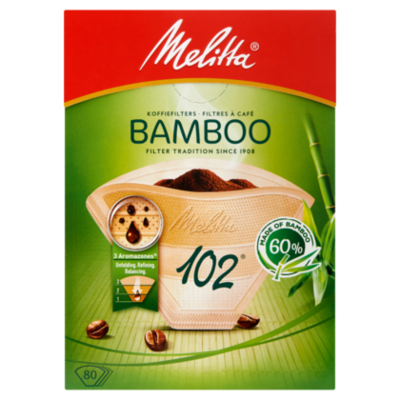 Melita Filterzakjes bamboo 102