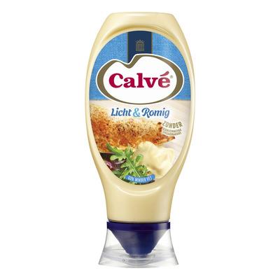 Calvé Saus squeeze mayonaise licht & romig