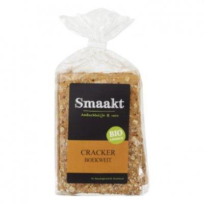 Smaakt Cracker boekweit bio