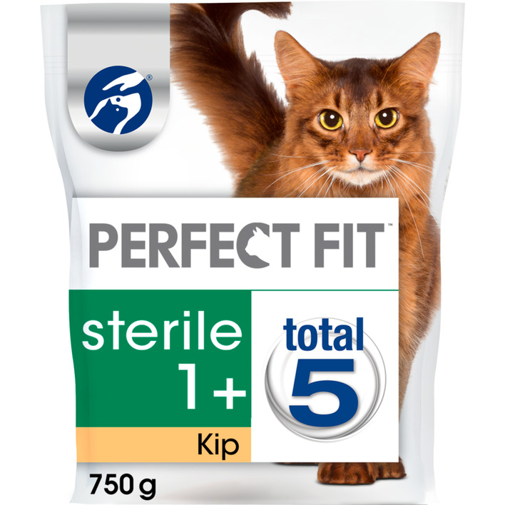 Perfect fit Kattenvoer droog kip sterile 1+ jaar