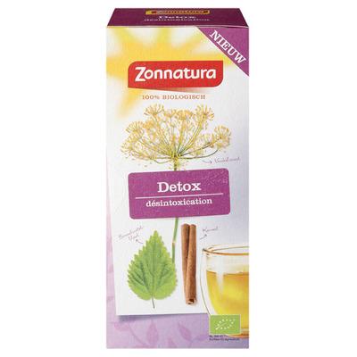 Zonnatura Detox verwarmende thee