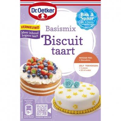 Dr. Oetker Basismix biscuittaart