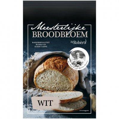 Bij Robèrt Broodbloem wit