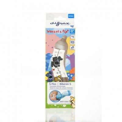 Difrax S-fles natural Woezel & Pip 250 ml