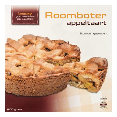 Huismerk Roomboter appeltaart (8 punten)