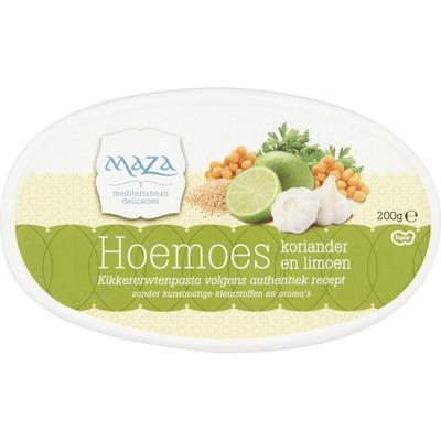 Maza Hoemoes koriander & limoen