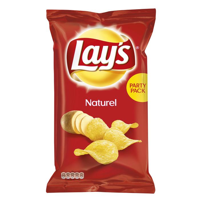 Lay's Naturel partypack xxl