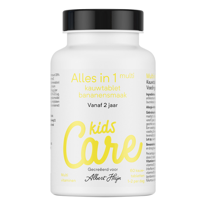 Care Kids multi kauwtabletten banaan
