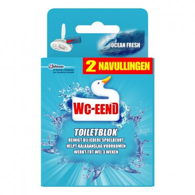 WC Eend Toiletblok original blue navul
