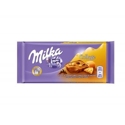 Milka Chocoladereep caramel fudge