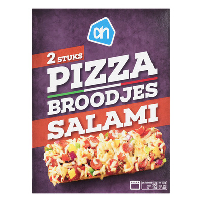 Huismerk Pizzabroodjes salami