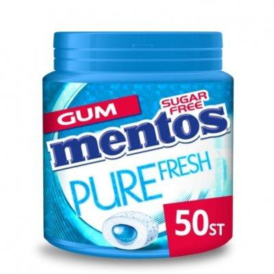 Mentos Gum Bottle pure fresh freshmint