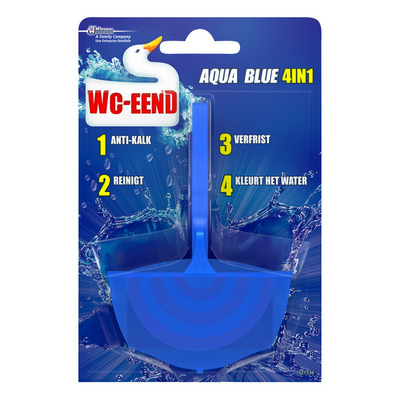 WC Eend Toiletblok aqua blue