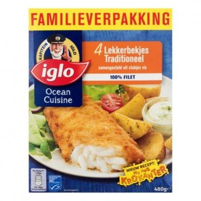 Iglo Ocean Cuisine Lekkerbekjes traditioneel