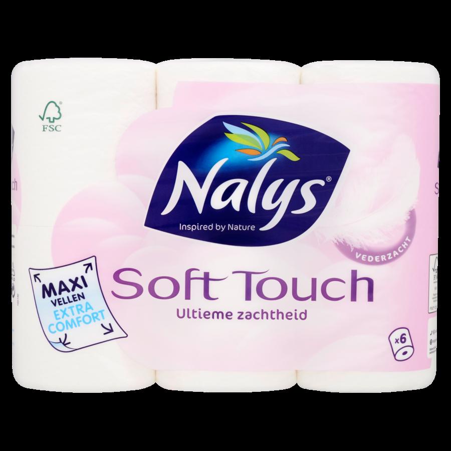 Nalys Toiletpapier soft maxi 2lgs