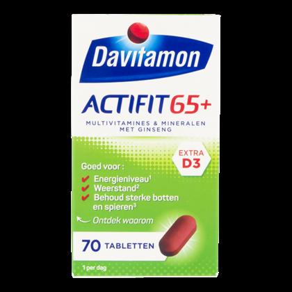 Davitamon Vitamine Actifit 65+