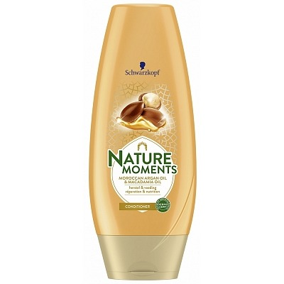 Schwarzkopf Cremespoeling natural moments Moroccan argan oil & macadamia oil