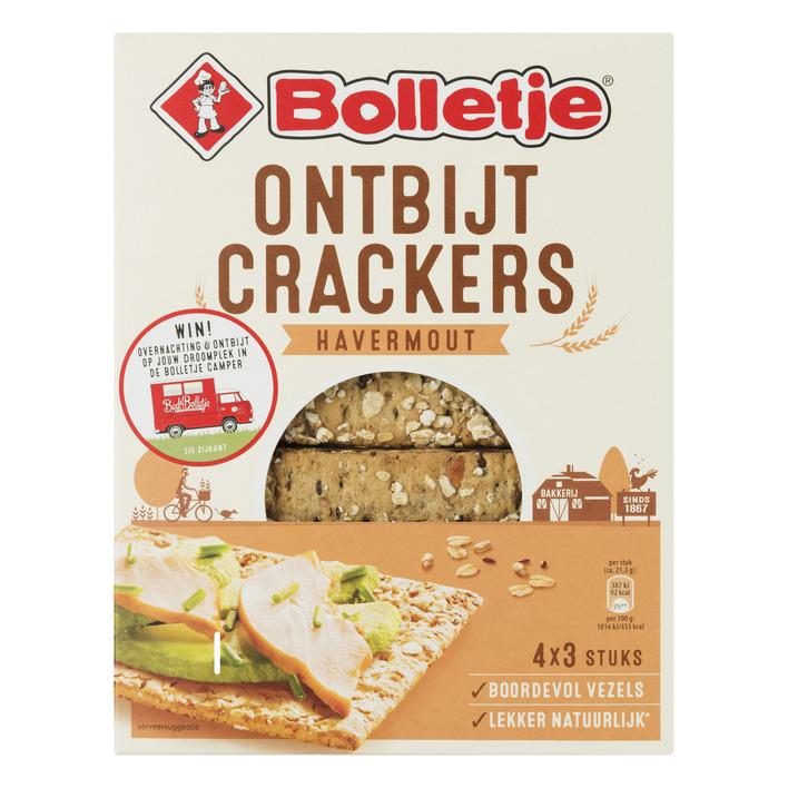 Bolletje Ontbijtcrackers havermout