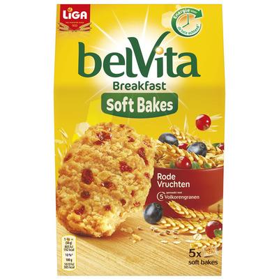 Belvita Soft rode vruchten