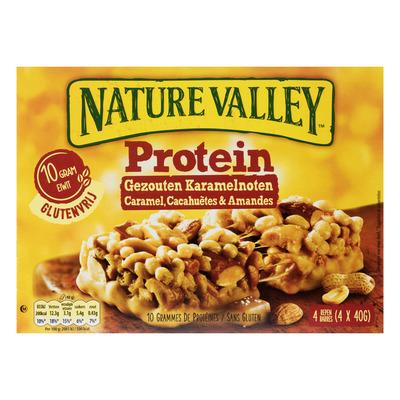 Nature Valley Protein gezouten karamelnoten