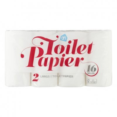 Huismerk Toiletpapier 2 laags 16 rol