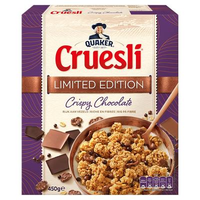Quaker Cruesli Crispy Chocolade 450 gr