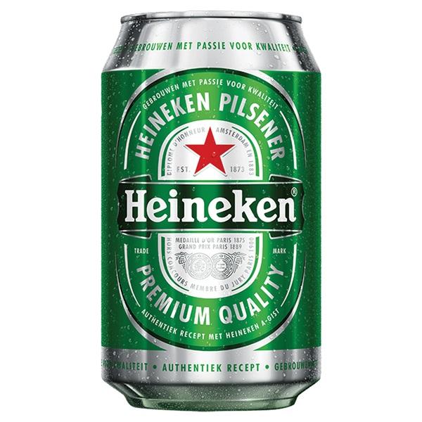 Heineken Bier Pils Blik 33cl