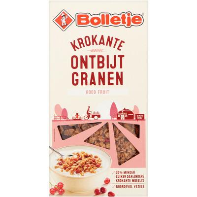 Bolletje Krokante ontbijtgranen met rood fruit
