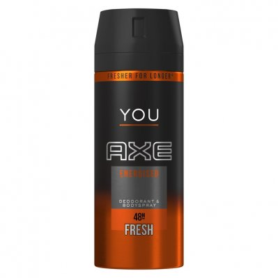 Axe Deodorant spray you energised