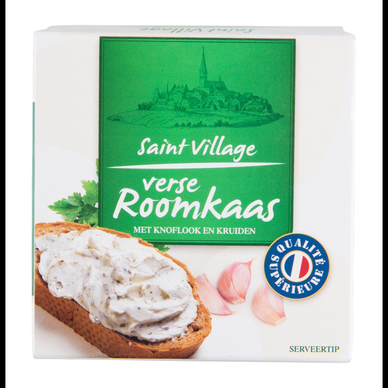 St. Village Roomkaas knoflook/kruiden