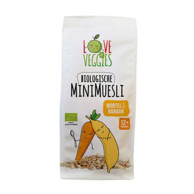 Love my veggies Mini muesli wortel-banaan 12mnd bio
