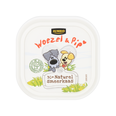 Huismerk Woezel & Pip 30+ Naturel Smeerkaas