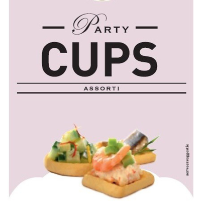 Jos Poell Party Cups Assorti