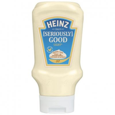 Heinz Seriously good mayonaise light topdown