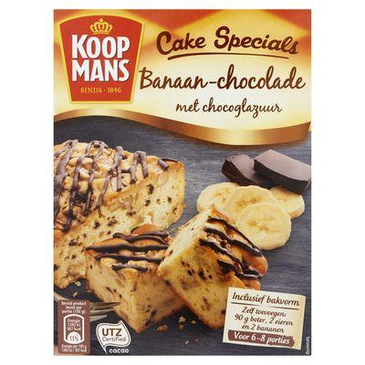 Koopmans cake specials banaan